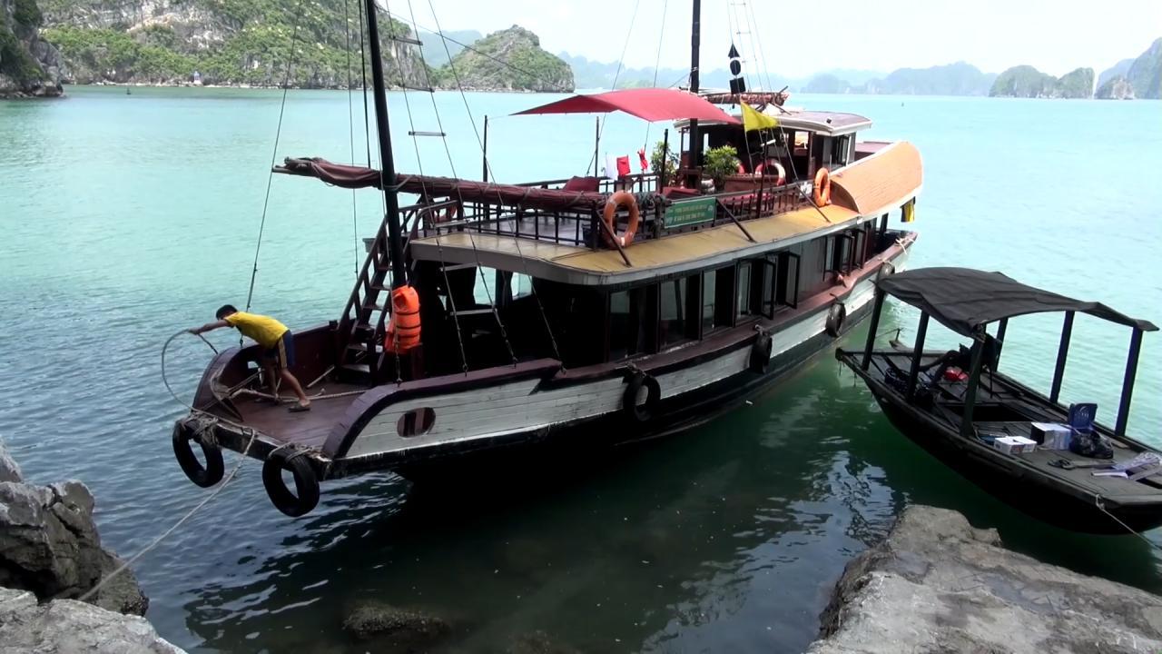 Vietnam Halong Kreuzfahrt